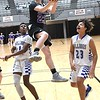 Beckley Stratton vs Eastern Greenbrier during the Big Atlantic Classic tournament held at the Beckley Raleigh County Convention Center Tuesday afternoon. Beckley Stratton won 45-37.<br /> (Rick Barbero/The Register-Herald)