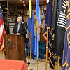 "Guest speaker Alfred ""Mack"" Skaggs, Lt. Colonel U.S. Army Vietnam veteran, spoke during a brief Veterans Day ceremony held at the American Legion Post 32 on South Kanawha Street. Skaggs was name the Grand Marshall for the the parade that was cancelled.<br /> (Rick Barbero/The Register-Herald)"