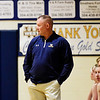 Greenbrier West's Head Coach Mark Agee looks on during their basketball game in Charmco on Thursday. (Chris Jackson/The Register-Herald)