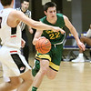 (Brad Davis/The Register-Herald) Greenbrier East's Davey Vance hustles up the court during Big Atlantic Classic action Friday at the Beckley-Raleigh County Convention Center.