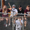 Woodrow Wilson students watching game against Greenbrier East Friday night outside the  stadium at Greenbrier East High School in Fairlea Friday night.<br /> (Rick Barbero/The Register-Herald)