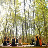 Yoga in the Mountains class.<br /> Jon C. Hancock/for The Register-Herald