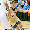 (Brad Davis/The Register-Herald) Shady Spring's Tommy Williams against Greenbrier East during the New River Community and Technical College Shootout Saturday at the Beckley-Raleigh County Convention Center.
