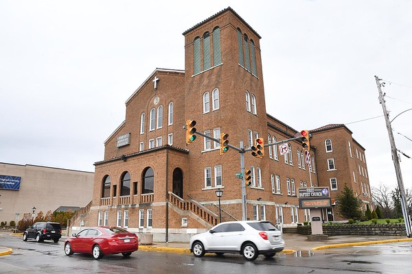 First Baptist Church  on Neville Street in Beckley. During the deadly Spanish influenza pandemic of 1918-19, a special flu hospital operated in the basement of the church.<br /> (Rick Barbero/The Register-Herald)