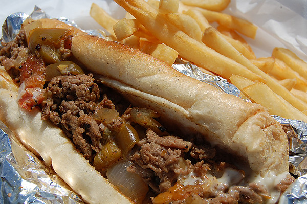 The traditional Steak and Cheese sandwich with all the fixings are a fan favorite according to Garret and Holly McCormick, of GH Concessions.<br /> Photo by Christian M. Giggenbach