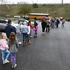 Long line of people lined at the Bible Baptist Church in MacAthur, weren't able to recieve the five day meal packets for school children because they ran out.<br /> Rick Barbero/The Register-Herald