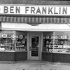 Ben Franklin store July 1, 1955