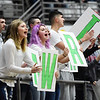Wyoming East student section cheers on their side against Shady Spring on Thursday in Beckley. (Chris Jackson/The Register-Herald)