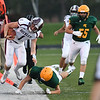 Woodrow Wilson against Greenbrier East Friday night opening the start of High School Football season in Fairlea.<br /> (Rick Barbero/The Register-Herald)