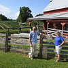 Max and Ann Robinson, owners of White Oak Farm in Renick.<br /> (Rick Barbero/The Register-Herald)