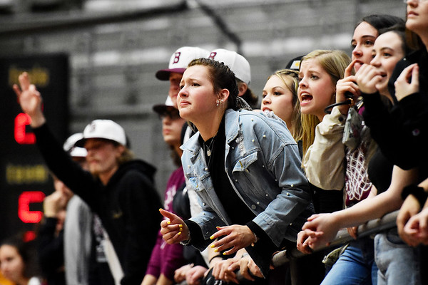 Woodrow Wilson High School Junior Emily Allen looks on distraught during the fourth quarter of their Class AAA, Region 3 Conference Final Game against St. Albans in Beckley on Tuesday. (Chris Jackson/The Register-Herald)