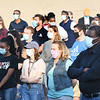 Large crowd gathered at the Heart of God Ministries Church on South Kanawha Street for a prayer vigil over the death of George Floyd, the Minneapolis man who was killed by a police officer Monday.<br /> (Rick Barbero/The Register-Herald)