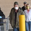 Number of shoppers were were wearing mask as they enter Sam's Club in Beckley Tuesday morning.<br /> (Rick Barbero/The Register-Herald)