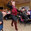 "(Brad Davis/The Register-Herald) Michael Flannery enters during the opening moments of the 2020 Hunks in Heels ""Fur"" Real fundraising event at the Beckley Moose Lodge."