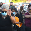 Heart of God Ministries Church on South Kanawha Street held a prayer vigil over the death of George Floyd, the Minneapolis man who was killed by a police officer Monday.<br /> (Rick Barbero/The Register-Herald)