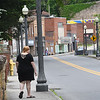 Kristina Johnson walking down Main Street in Mt. Hope, was 18 years old when she was diagnosed as a Type 2 diabetic. Now, 13 years later, her kidneys have lost nearly all of their ability to function effectively. She is looking for a kidney donor who can help return her life to normalcy.<br /> (Rick Barbero/The Register-Herald)