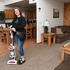 Kim Maxwell, owner of Suddenly Spotless in her property she owns at Winterplace.<br /> (Rick Barbero/The Register-Herald)