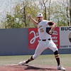 University of Charleston pitcher Austin Henrich throws during the game against Alderson Broaddus University in the Mountain East Conference Tournament at Linda K. Epling Stadium in Beckley Saturday. Jenny Harnish for the Register-Herald