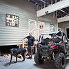 Retired general contractor Jeff Bean moved back to Mullens after 30 years away from West Virginia. He purchased a former Ford garage in Mullens and has begun converting it into an ATV village.  Guests will be able to pull their ATV's up to their front doors. Jenny Harnish/The Register-Herald