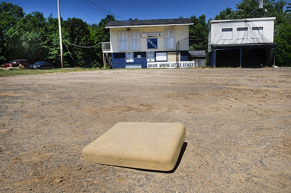 Shady Spring Little League is looking for a new location for their two fields after 43 seasons. They are moving due to the expasion of Shady Spring Elementary School.<br /> (Rick Barbero)