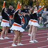 Summers County Bobcats Cheerleaders Tuesday night against Shady Spring Tigers.<br /> Tina Laney/for The Register-Herald