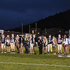 Greenbrier West homecoming court was presented before game against  James Monroe Friday evening at Greenbrier West High School.<br /> (Rick Barbero/The Register-Herlad)