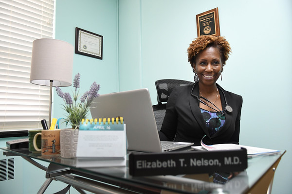 Dr. Elizabeth Nelson in her new office on 2401 South Kanawha Street in Beckley.<br /> (Rick Barbero/The Register-Herald)
