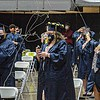 F. Brian Ferguson/Register-Herald  The Shady Spring High School Class of 2021 celebrate their graduation on Friday at the Beckley-Raleigh County Convention Center.