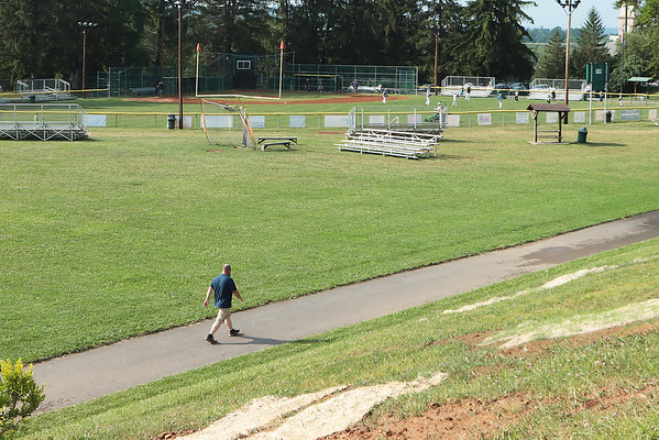 Hollowell Park in Lewisburg has been selected to host the State Little League Tournament mid-July.  Jenny Harnish for The Register-Herald
