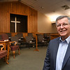 Pastor Roger Pauley of the Cranberry Baptist Church.<br /> (Rick Barbero/The Register-Herald)
