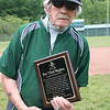 """Wyoming East baseball coach Ron """"Chief"""" Mayhew recognized."""