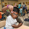 Raihan Rahat, looks over his star fish he made during the STEM Camp held at Summers Co. High School.<br /> (Rick Barbero/The Register-Herald)