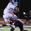 Brodee Rice, of Princeton, breaking away for some yardage against Woodrow Wilson Friday night at VanMeter Stadium in Beckley.<br /> (Rick Barbero/The Register-Herald)