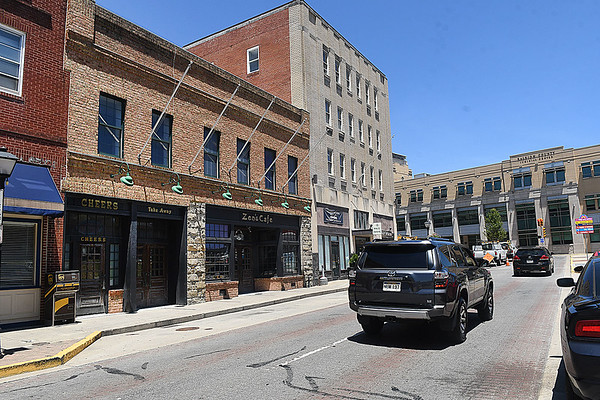 Beckley Common Council will vote July 2 on whether the city will purchase Zen's Cafe a downtown building on Neville Street.<br /> (Rick Barbero/The Register-Herald)