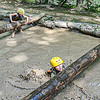 Girl Scouts battle the mud course at Ace Adventure Resort on Manday in Oak Hill. F. Brian Ferguson/Register-Herald