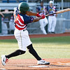 Juan Familia at bat for the WV Miners against Johnstown Mill Rats.<br /> Tina Laney/for The Register-Herald