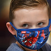 Cayson Brown kindergarten student in Lora Griffith's class at Pineville Elementary School. Masks are now mandated in all Wyoming County Schools.<br /> (Rick Barbero/The Register-Herald)