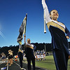 The Nicholas County High School band performs during the game against Wyoming East in Summersville Friday. Jenny Harnish/The Register-Herald