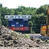Shady Spring High School football field is getting astroturf.<br /> (Rick Barbero/The Register-Herald)