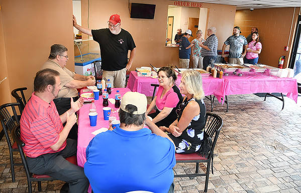 The Pink Pig opened up a new location on 801 South Kanawha Street in Beckley and held a ribbon cutting ceremony Thursday afternoon. <br /> (Rick Barbero/The Register-Herald)