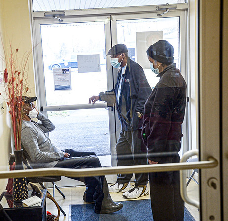 The Multicultural Center, in Beckley, played host to a Covid testing location on Wednesday from 12-6 p.m. <br /> F. Brian Ferguson/for The Register-herald