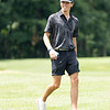 Todd Duncan showing some excitement after a good tee off on hole 13 during the First round of Mountain State Golf Tournament at Grandview Country Club. <br /> Tina Laney/for The Register-Herald