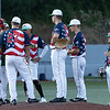 WV Miners take a minute to settle down on the mound<br /> Tina Laney/for The Register-Herald