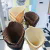 Homemade waffle cones. F. Brian Ferguson