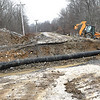 New River Dive in Beckley is closed to replace a new drain line.<br /> (Rick Barbero/The Register-Herald)