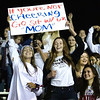 Midland Trail fans getting rowdy in the student section. Chad Foreman for the Register-Herald.