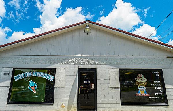 F. Brian Ferguson/Register-Herald  Melting Memories Ice Cream at 423 Ragland Road in Beckley.