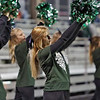 Wyoming East cheerleaders perform during Friday's game against Nicholas County in Summersville. Jenny Harnish/The Register-Herald