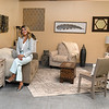 Jennifer Bowling, owner of Consigned and Design Furniture Company on 580 Ragland Road in Beckley.<br /> (Rick Barbero/The Register-Herald)