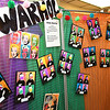 Andy Warhol exhibit produced by Jane Atinson, pre-k class at St. Francis de Sales school in Beckley, for their annual fund raising art gallery that's on display in the school. Atinson said, this was a two month project with students producing 400 pieces of art that are displayed in 15 seperate exhibits. Members of the church, staff members, students. parents and grandparents are able to view the gallery Thursday and Friday in the parish hall between 8 am and 2:30 p.m. and can purchase a piece of artwork in a frame for $10.  The fund raiser helps to buy art supplies and other activities.<br /> (Rick Barbero/The Register-Herald)